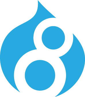 Site built with Drupal 8